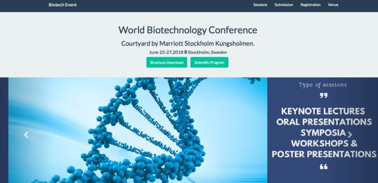ワールド・バイオテクノロジー・カンファレンス