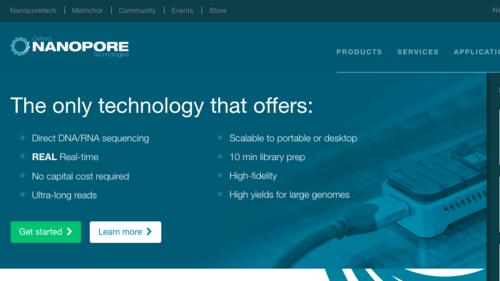 オックスフォード・ナノポア・テクノロジーズ/Oxford Nanopore Technologies