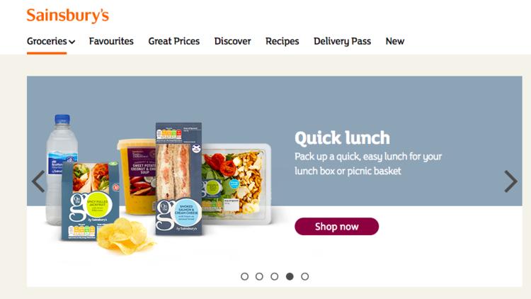 イギリス大手スーパーマーケット、セインズベリー(Sainsbury)