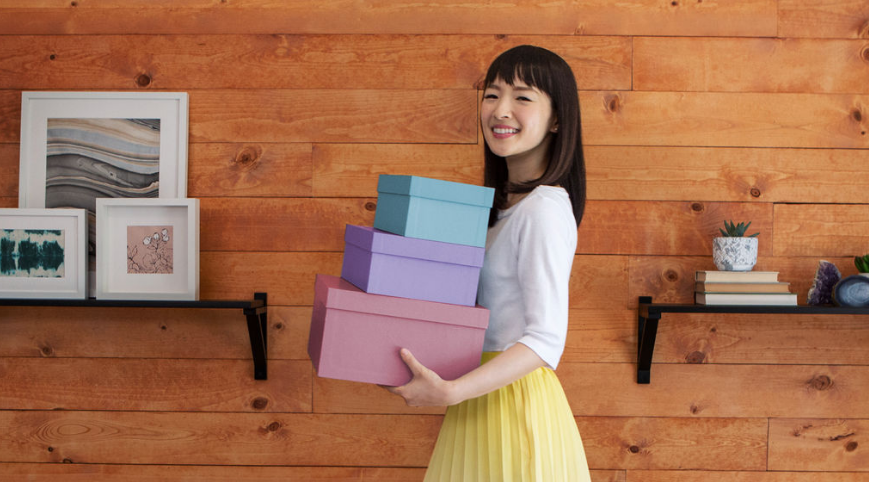 Kondo Marie's KonMari Method to Spark Joy