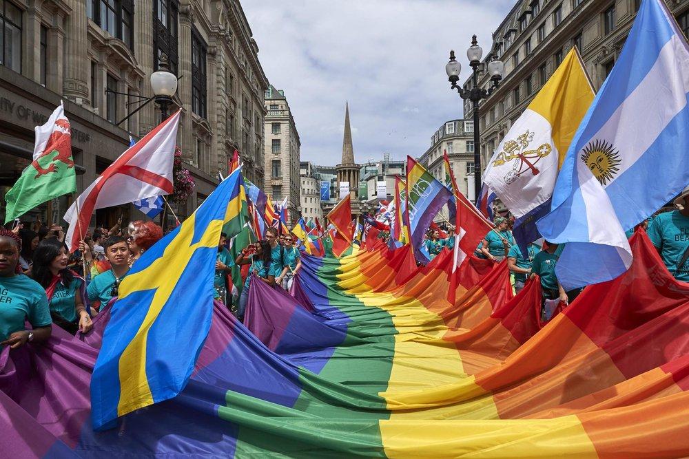 ロンドンプライドパレード・イギリス