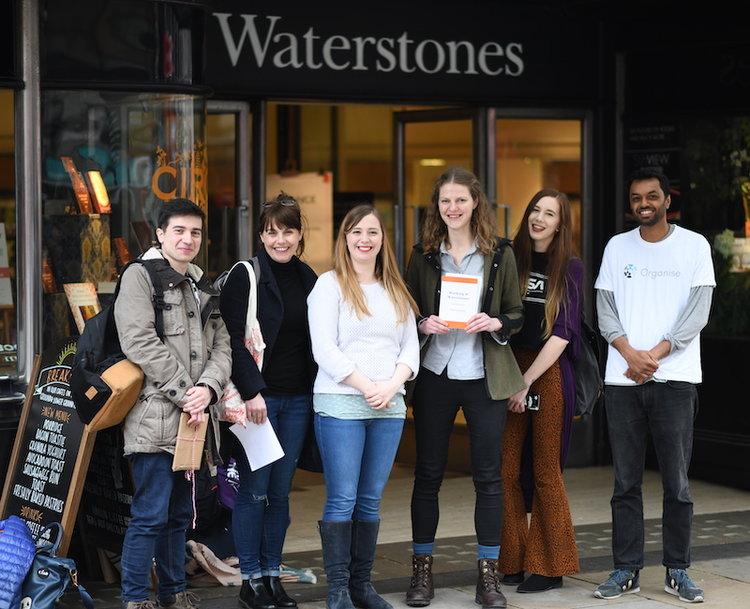Waterstones Organise
