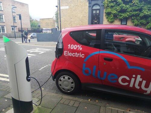 電気自動車(EV) Blue City