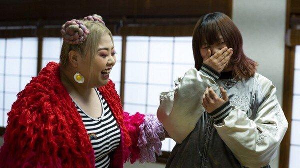 Naomi Watanabe and Kae in Queer Eye Japan