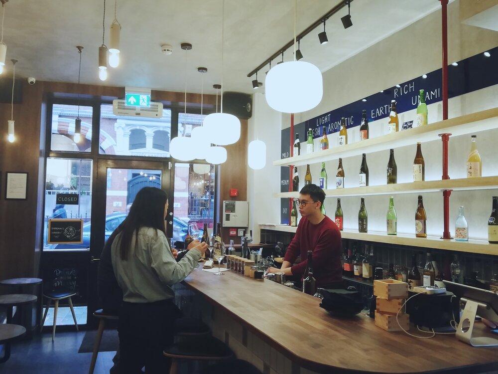 Moto London Sake Bar