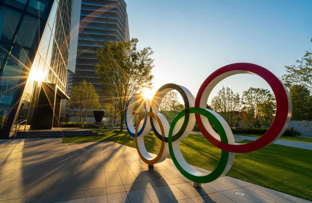 Tokyo 2020 Marketing Olympic Rings