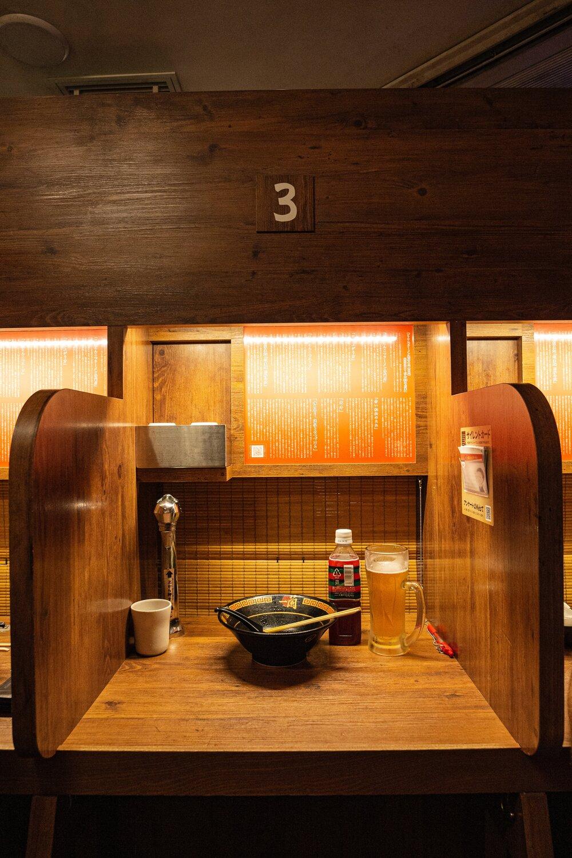 Ramen Restaurant in Tokyo