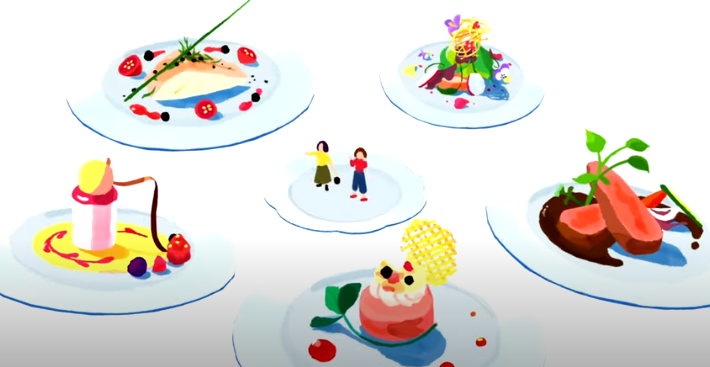 French Cuisine in Japan Google Ad