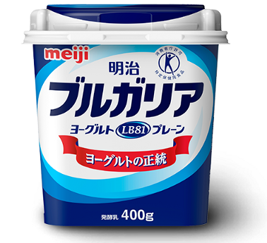 Meiji Bulgaria Yogurt in Japan