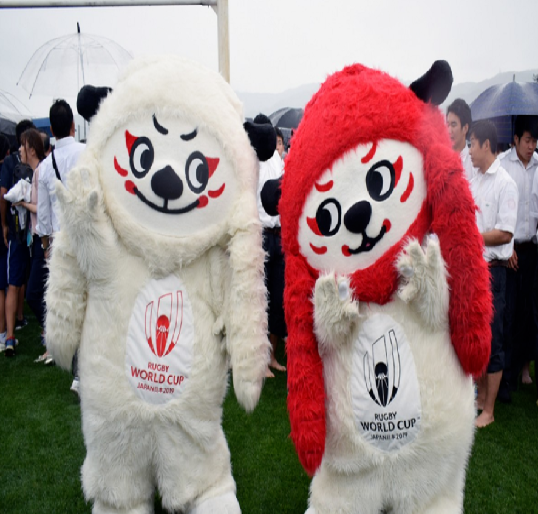 Rugby World Cup Japan 2019 Mascots