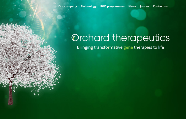 Orchard Therapeutics スタートアップ