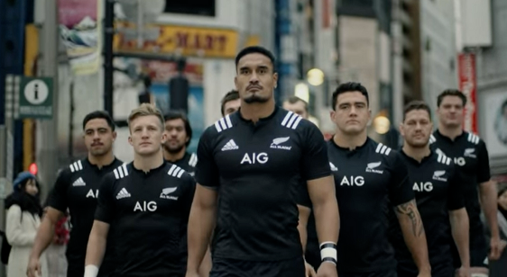 Rugby World Cup Japan All Blacks