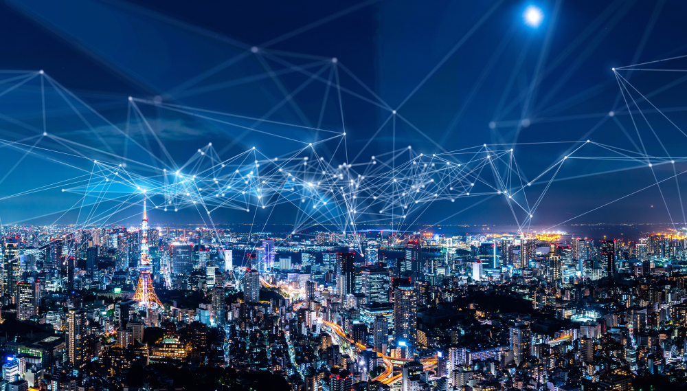 IoT in Japan Network Connections