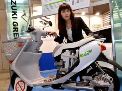 Suzuki Electric Scooter Japanese automotive industry