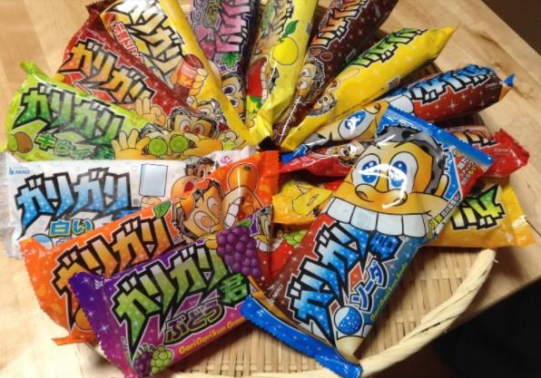 GariGari Kun Ice Cream Japan