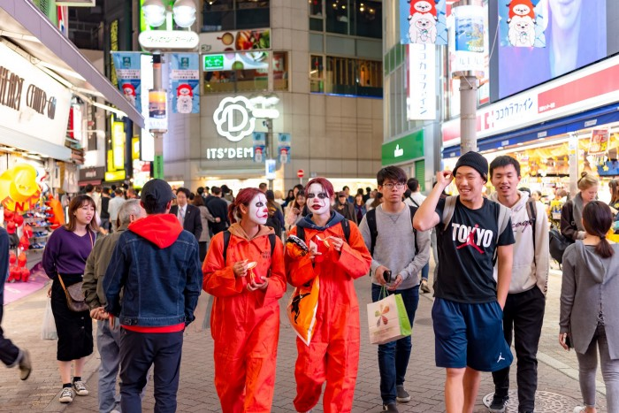 Halloween in Japan 2019