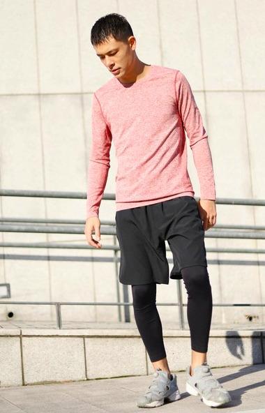 Men's running clothes Japan