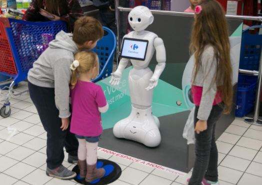 Japan AI Softbank Pepper Robot