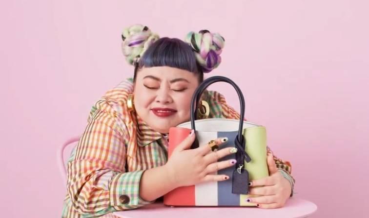 Naomi Watanabe Japanese Comedian Kate Spade Handbag Collaboration