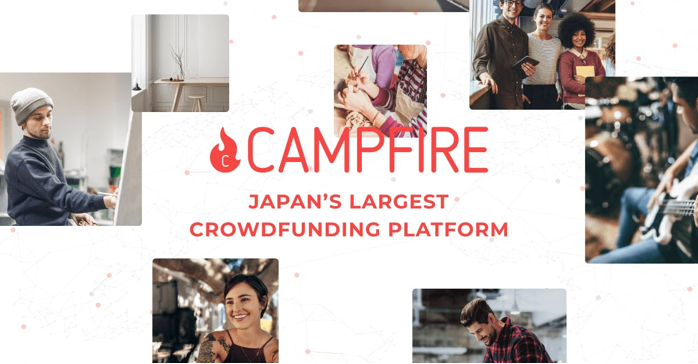 Campfire crowdfunding in Japan